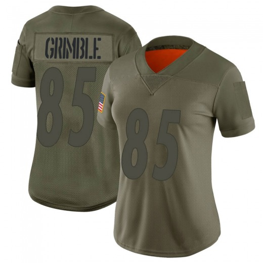 Xavier Grimble Women's Pittsburgh Steelers Nike 2019 Salute to Service Jersey - Limited Camo